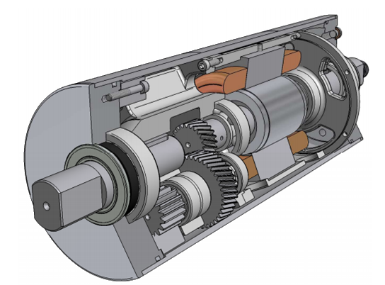 Inside the LAT Drummotor