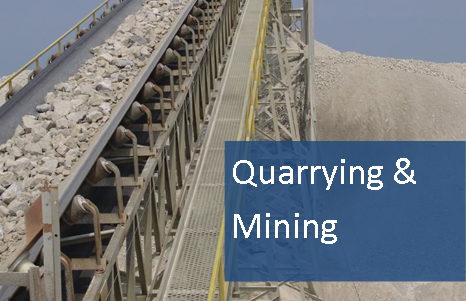 quarrying and mining